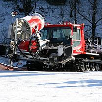 Pistenbully 200 des Skilanglaufzentrums Westfeld