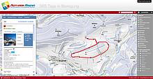 interaktive Karte Rothaar Arena Skilanglaufzentrum Sauerland Loipenkarte