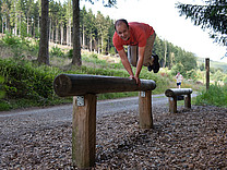 Outdoorfitnesstraining im Sauerland