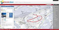 Loipenkarte und Übersichtskarte des Skilanglaufzentrum in der Rothaar Arena Westfeld, Sauerland