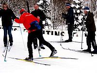 Langlaufkurse im Skilanglaufzentrum Westfeld in der Rothaar Arena.