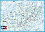 Loipenkarte Rothaar Arena Skilanglaufzentrum Langlauf Sauerland Loipen