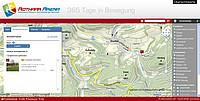 Übersichtskarte / Streckenübersicht der Sportstrecken in der Rothaar Arena Westfeld, Sauerland