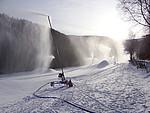 Beschneiung Skilanglaufzentrum Westfeld in der Rothaar Arena