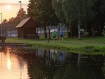 Finnbahn Rothaar Arena Sauerland Schmallenberg Westfeld Finnenbahn beleuchtet